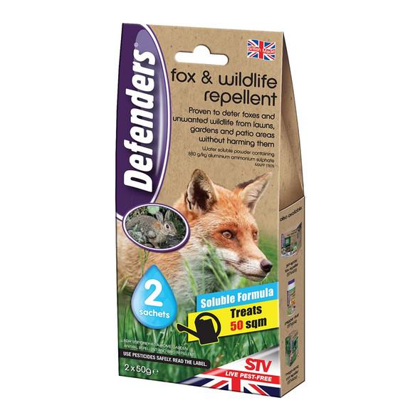 Defenders Fox and Wildlife Repellent 2 Sachets