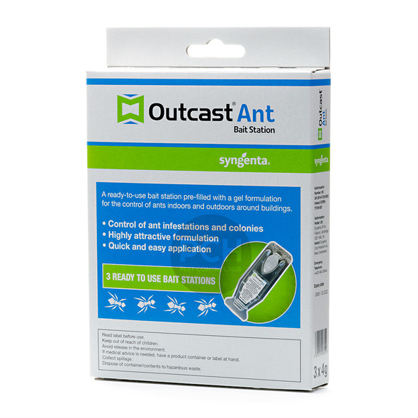 Syngenta Outcast Ant Bait Station Ready-to-Use 3 Pack