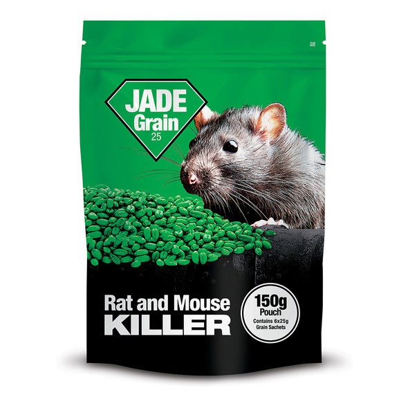 Lodi Jade Grain Bait Rat and Mouse Killer Poison Bromadiolone 150g