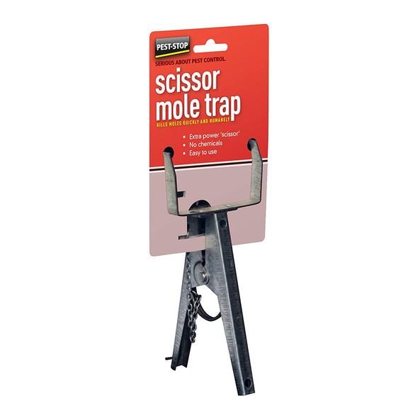 Pest-Stop Scissor Mole Trap