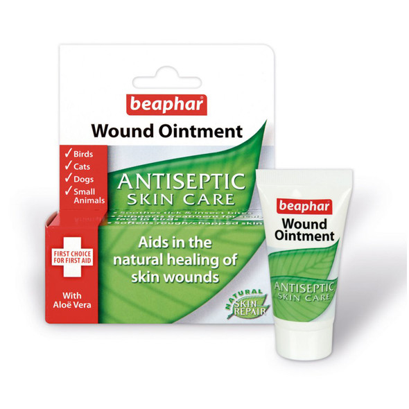 Beaphar Wound Ointment Antiseptic Skin Care Cream 30ml