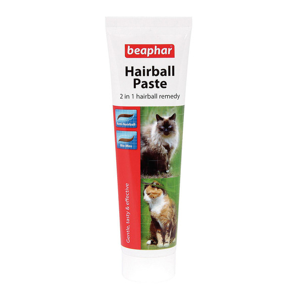 Beaphar Hairball Paste 2 in 1 Remedy for Cats and Kittens