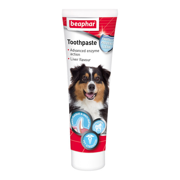 Beaphar Toothpaste for Dogs and Cats Liver Flavour 100g