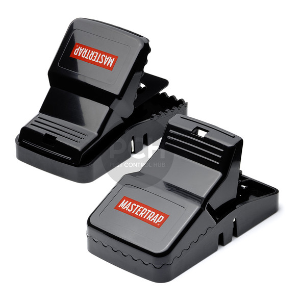 Mastertrap Heavy Duty Gator Snap Rat Traps Twin Pack
