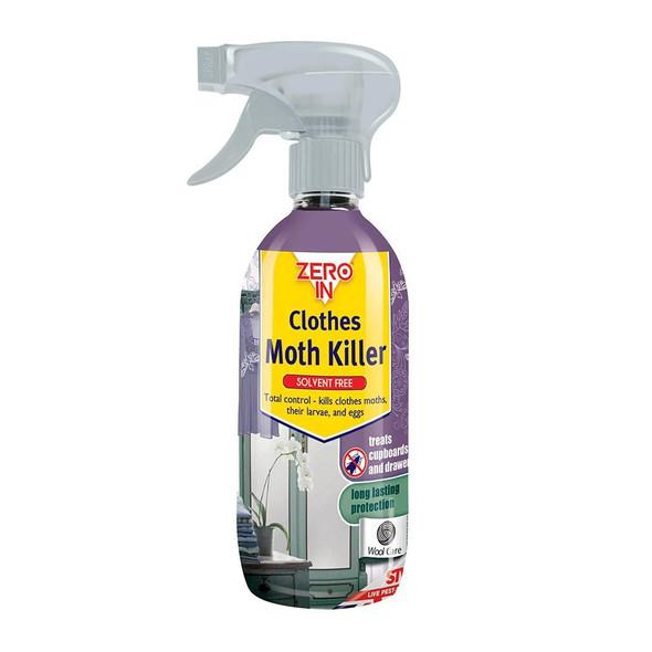 Zero In Clothes Moth Killer Spray Chemical-free 500ml