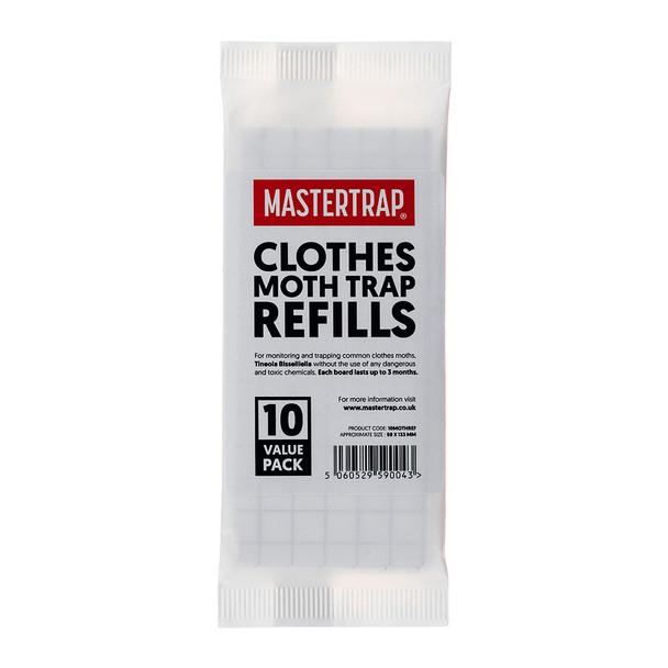 Mastertrap Clothes Moth Trap Refill Pads (10MOTHREF)
