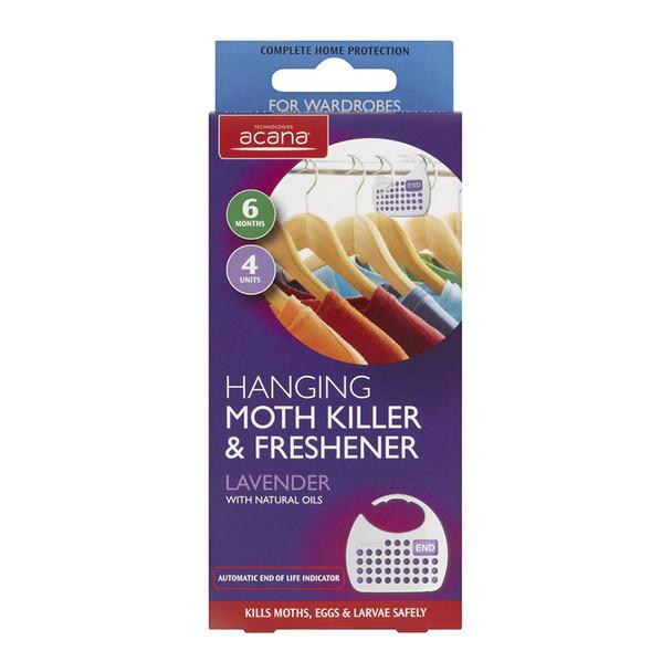 Hanging Moth Killer and Lavender Freshener from Acana