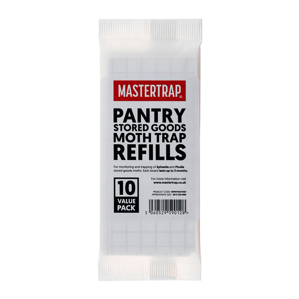 Mastertrap Pantry and Stored Goods Moth Trap Refills Front