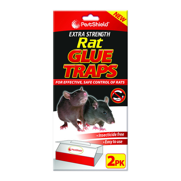 Pestshield Extra Strength Rat Glue Trap 2 Pack (PS0069)