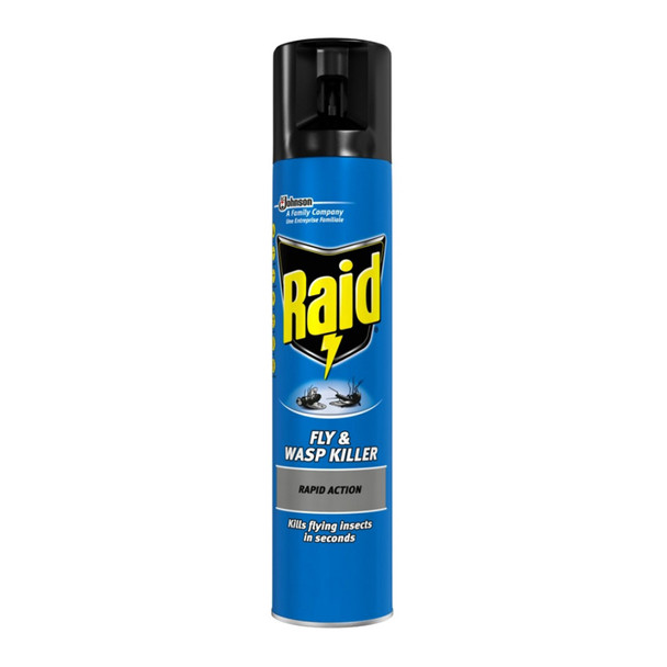 Raid Fly and Wasp Killer Spray 300ml