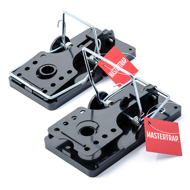 Rat Trap Heavy Duty Easy Set Snap Traps for Rats 2 Pack