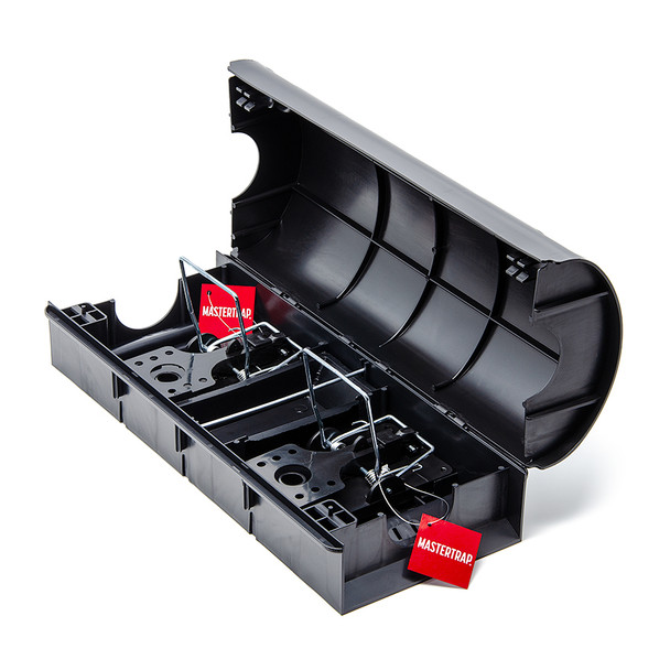 Mastertrap Rat Bait Station Tunnel with Dual Snap Traps (DRTT)