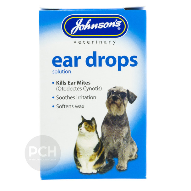 Johnsons Ear Drops Solution for Cats and Dogs 15ml