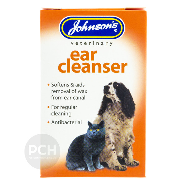 Johnsons Ear Cleanser for Cats and Dogs 18ml