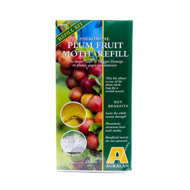 Agralan Plum Fruit Moth Trap Refill for Plums, Gages and Damsons (HA731)