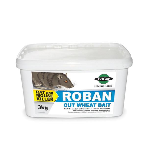 Pelgar Roban Cut Wheat Bait Rat and Mouse Poison 50PPM