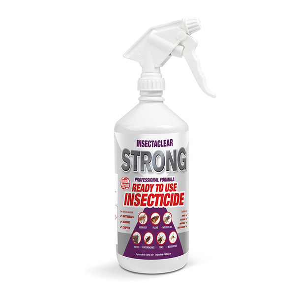 Insectaclear Strong Insect Spray Treatment for Bed Bugs 1L