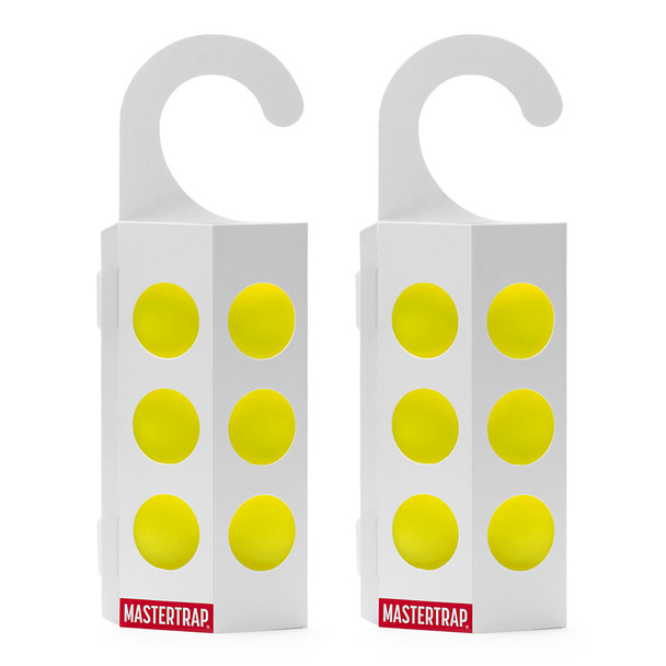 Mastertrap Fruit Fly Refill Glue Pads with Paper Hangers