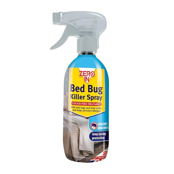 Zero In Bed Bug Killer Spray Water-based Treatment 500ml
