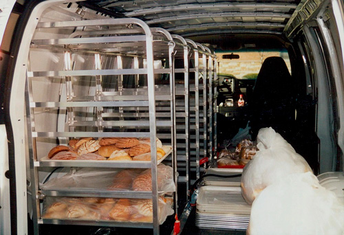Bakery racks from Schaumburg Specialties