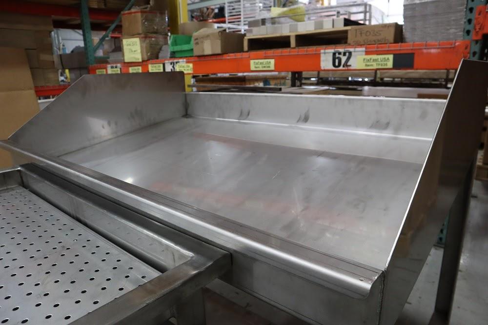 Custom food processing table