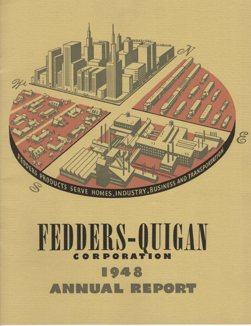 1948 Fedders Quigan Corp. Annual Report - free download