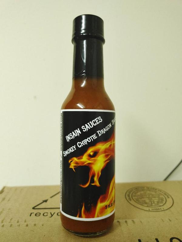 Insain Sauce's Kick Ass Chipotle Sauce