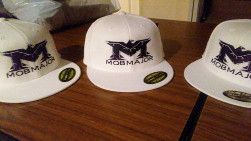 MOB MAJOR Wear New Era Snap Back Hats Worn By Mob Major Artist Que Gutta OSFA