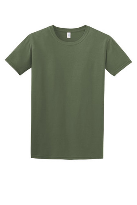 4.5-ounce, 100% ring spun cotton Army Green