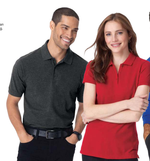 PORT AUTHORITY®  EZCOTTON® POLOS