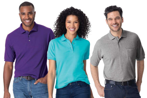 Port Authority HEAVYWEIGHT COTTON  PIQUE POLOS