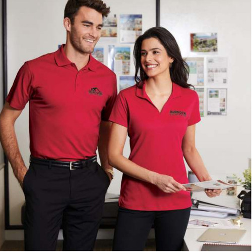 PORT AUTHORITY® RAPID DRY™ MESH POLOS