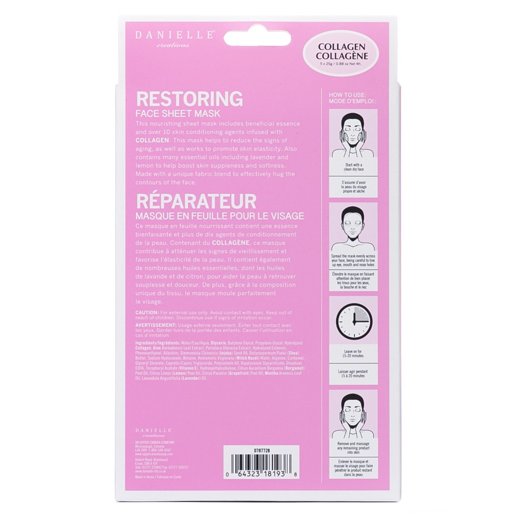Danielle Creations Collagen Restoring Sheet Mask