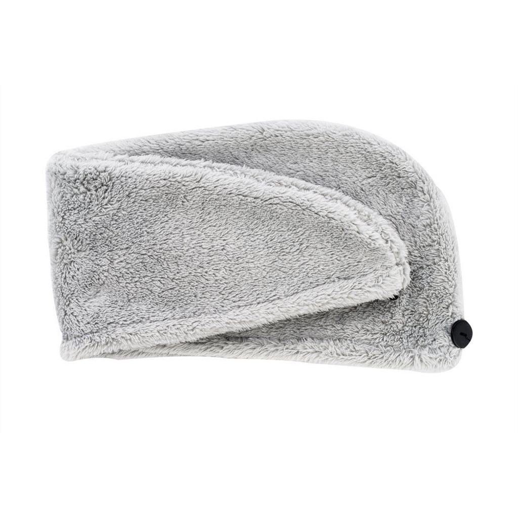 Danielle Creations Glam Goddess Hair Turban Towel - Grey