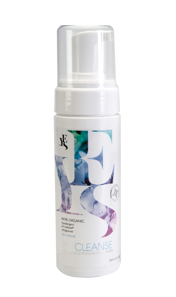 YES Cleanse Organic Intimate Wash 150ml Fragrance Free
