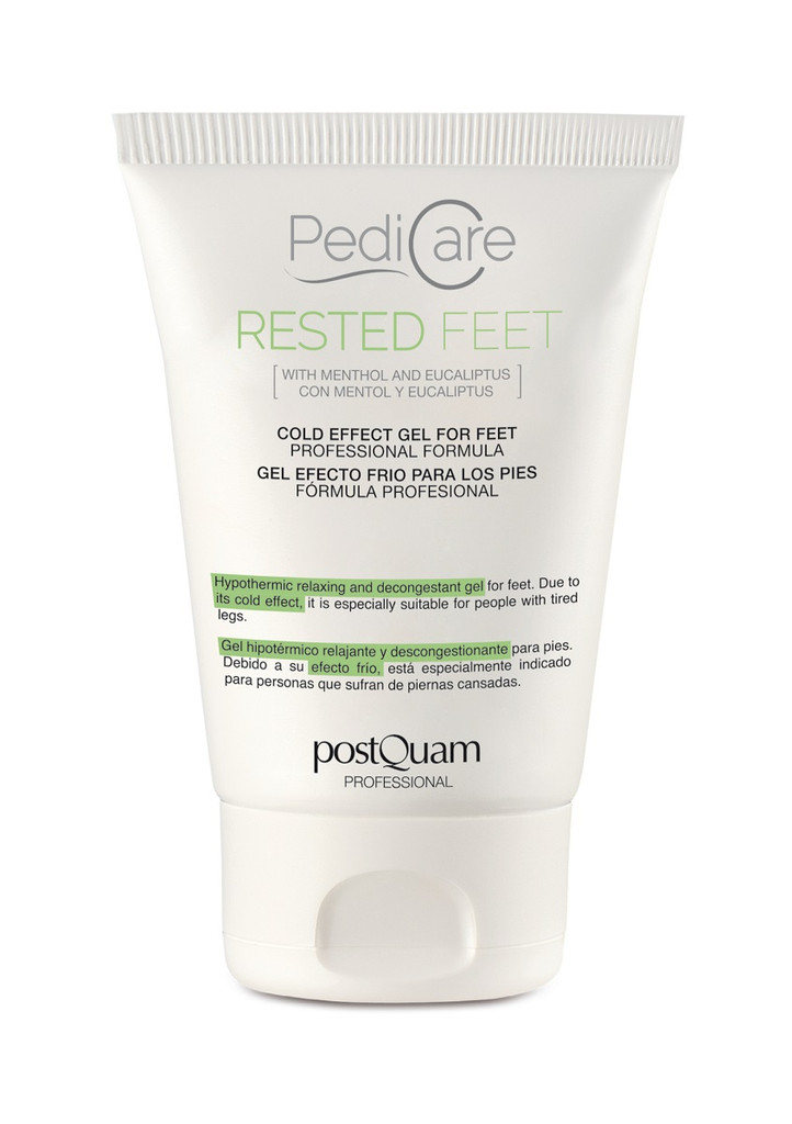 PostQuam PediCare Rested Feet Cold Effect Foot Gel 100ml