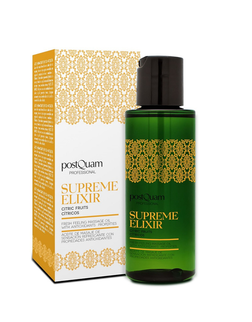 PostQuam Supreme Elixir Citrus Fruits Massage Oil 100ml