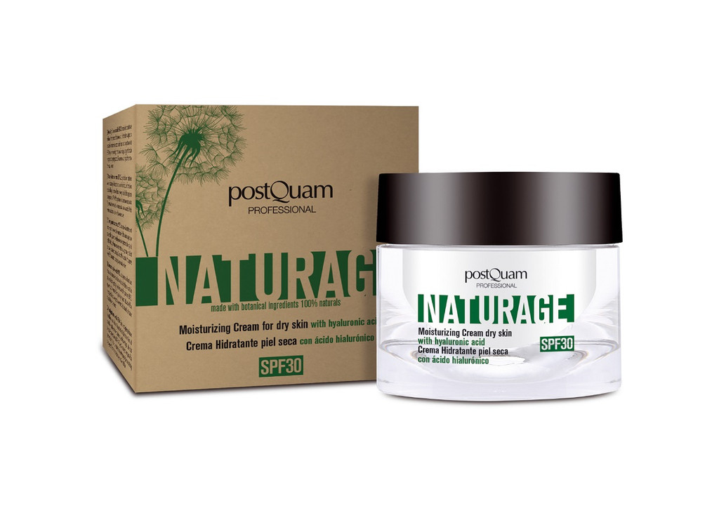 Naturage Organic SPF30 Day Cream For Dry - Dehydrated Skin 50ml