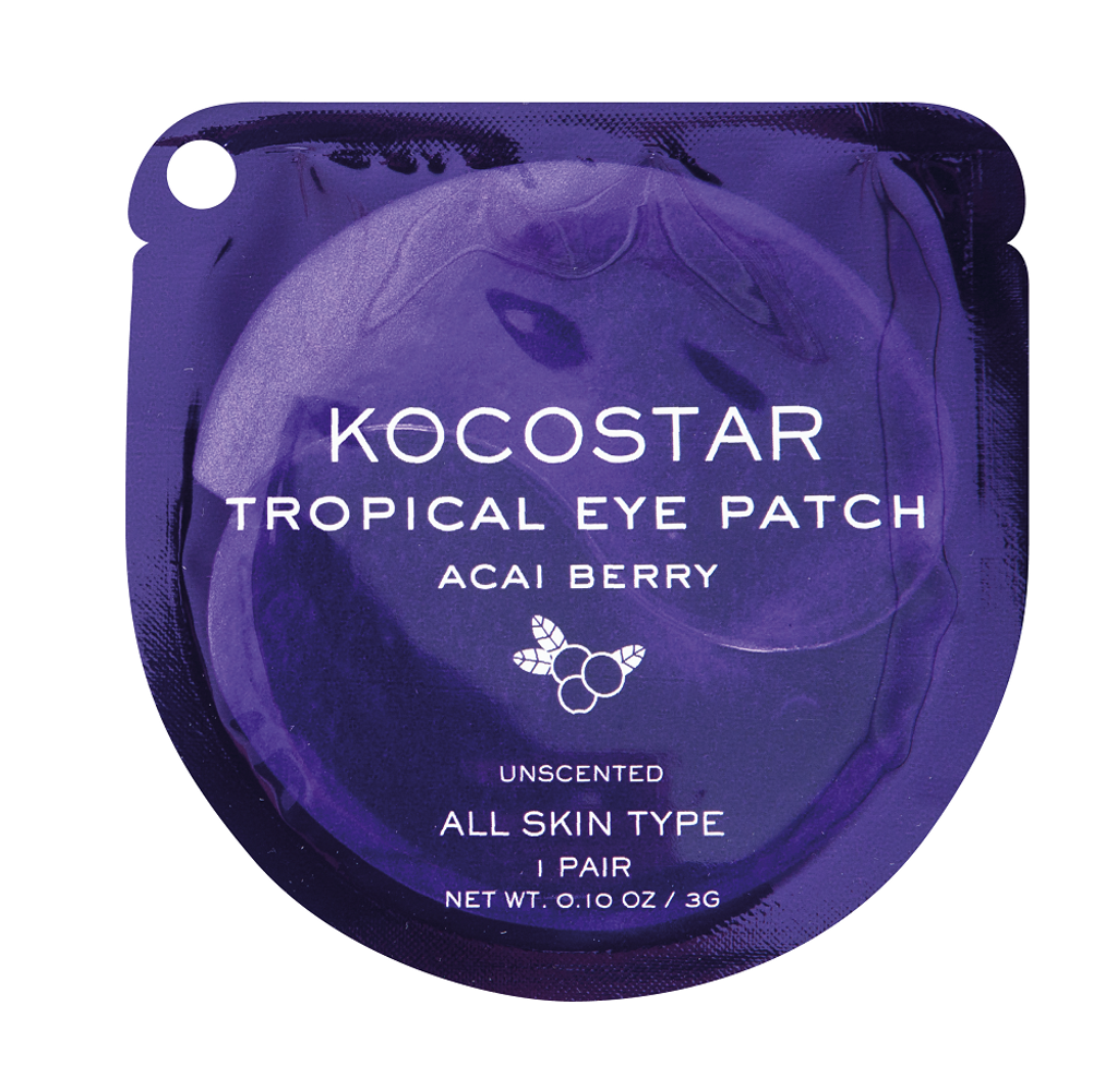 Kocostar Acai Berry Moisturising Under Eye Patch - 1 Pair