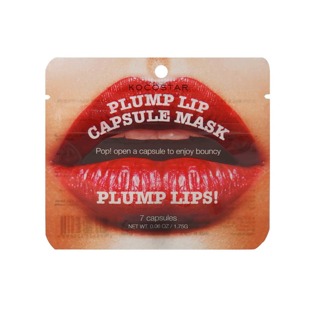 Kocostar Plump Lips Lip Plumping Serum Capsules (7 Per Pouch)