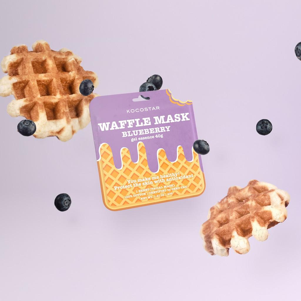 Kocostar Blueberry Waffle Sheet Mask