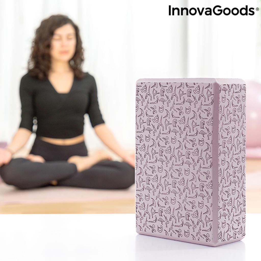 Innova Brigha High Density Foam Yoga Block