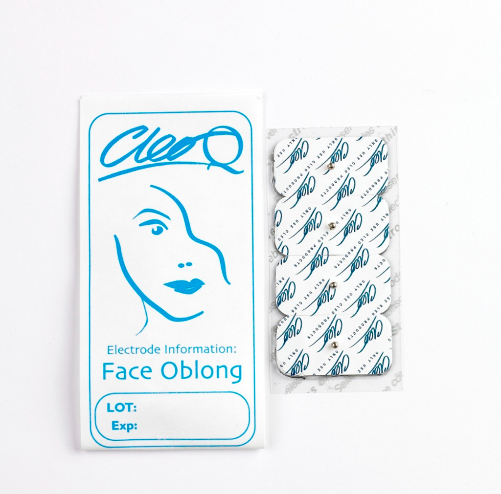 Cleo Face Pads: Oblong: 5 Packs