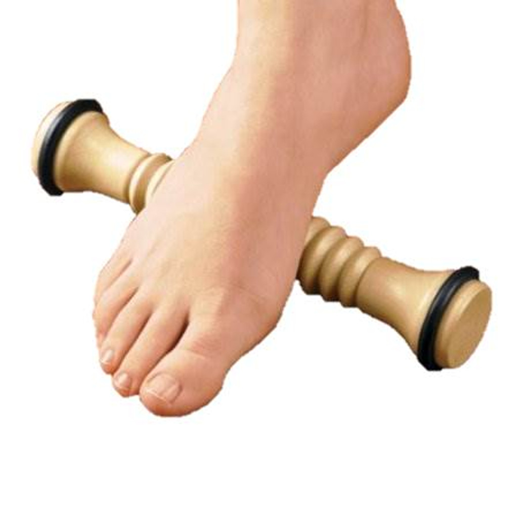 ribbed foot massager