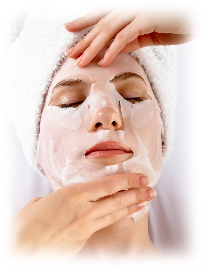 facial treatment mask