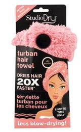 Danielle Creations Glam Goddess Hair Turban Towel Coral Box