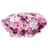 Danielle Creations Vintage Floral Blush Shower Cap