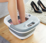 Innova Aqua-Relax Foldable Heat & Vibration Foot Spa