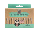 Eco Panda Biodegradable Bamboo Cotton Buds ~ Pack of 250
