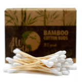 AW Earth Biodegradable Bamboo Cotton Buds ~ Pack of 200